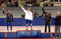 Champion du monde junior du 1000m, le 6/01/2006